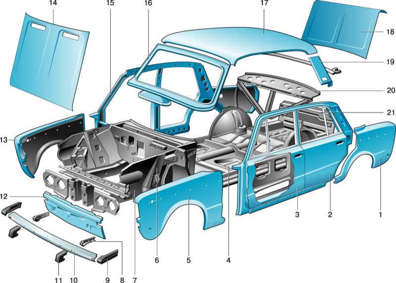 Детали для автомобилей своими руками 119